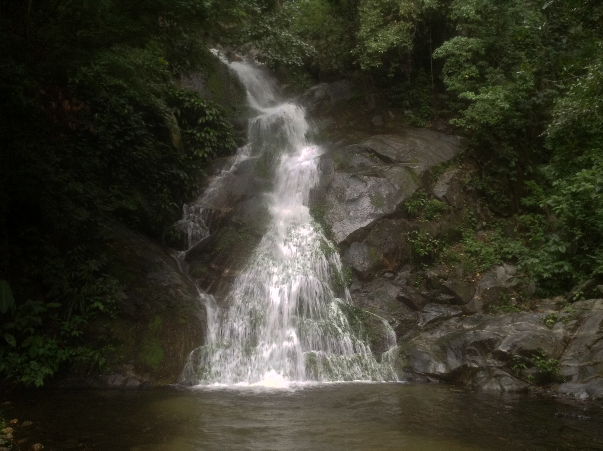 Hidden waterfalls of Paso del Mango