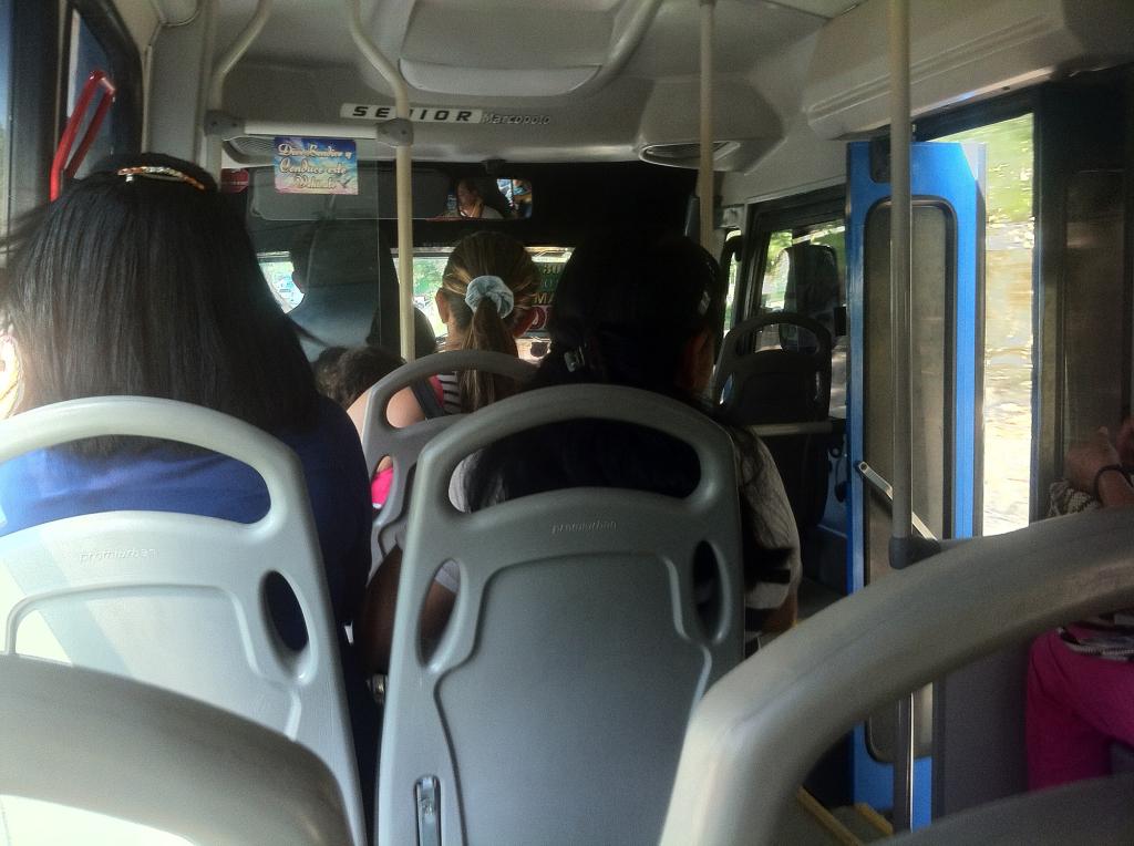 Bus near Santa Marta Colombia