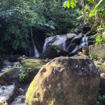 Ciudad Perdida small waterfalls