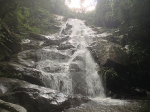 The Jirocasaca Waterfall