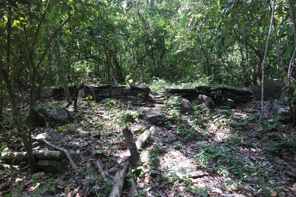 Tayrona ruins on the way to the Mini Ciudad Perdida