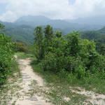 View just before arriving at the Mini Cuidad Perdida Ruins