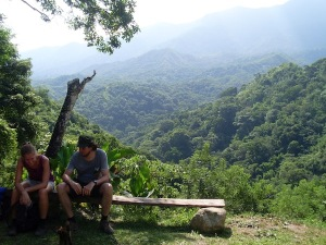 A break on a nice spot between Minca and Paso del Mango