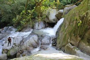 Another waterfall in between Minca and Paso del Mango