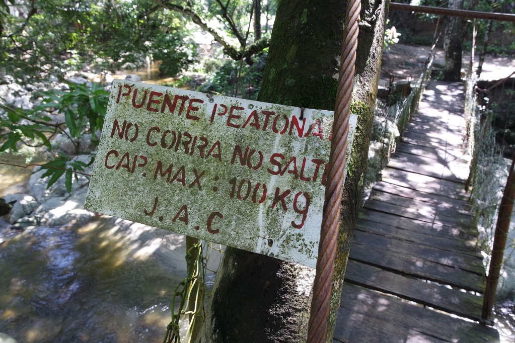 A bridge in Paso del Mango