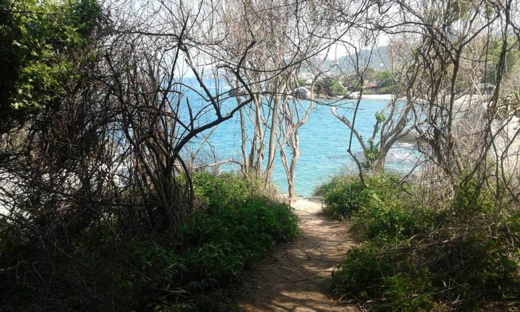 Hiking Tayrona National park