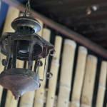 Lantern in Finca la Candelaria