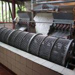 Large coffee processing machine