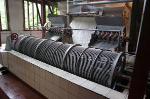 Large coffee processing machine