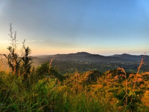 View from Finca Carpe Diem, Paso del Mango, near Minca