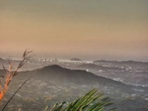View from Finca Carpe Diem over Santa Marta, around Minca