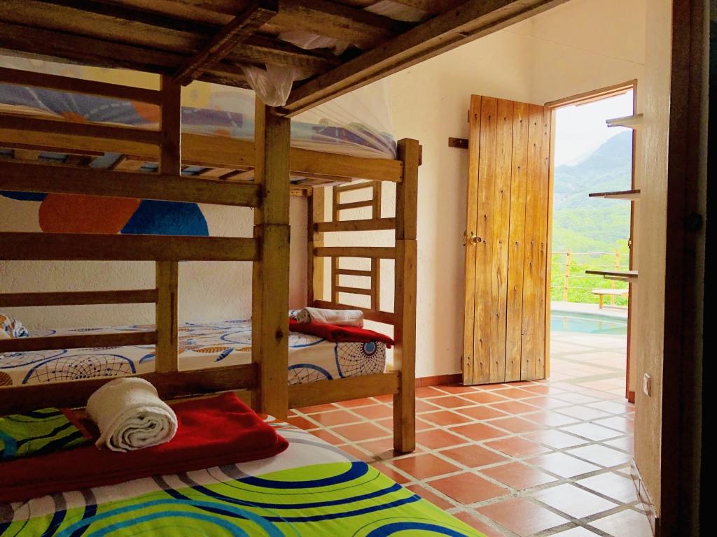 Flamencos 4 bed dorm with AC